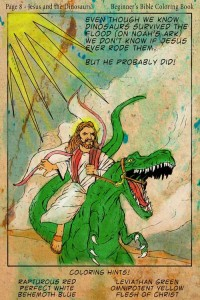 Jesus loved conversations. And dinosaurs. Man would I like to have a beer with that dude.